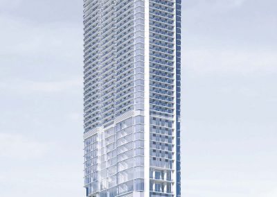 3D rendering sample of Okan Tower condo.