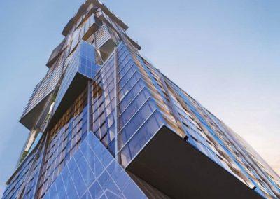 3D rendering sample of Waldorf Astoria Hotel & Residences Miami condo.
